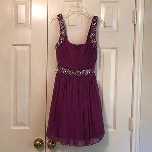 Purple (prom) dress